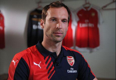 VIDEO: Cech's first Arsenal interview