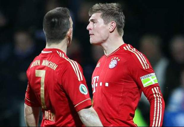 Ribery has one goal & no assists in eight games without Kroos as the No. 10 - proof that Bayern Munich must drop Muller or Robben?