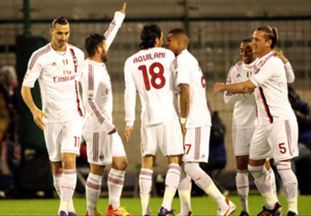 Cagliari 0-2 AC Milan: Ibrahimovic adds to early own goal to send champions back to the top of Serie A