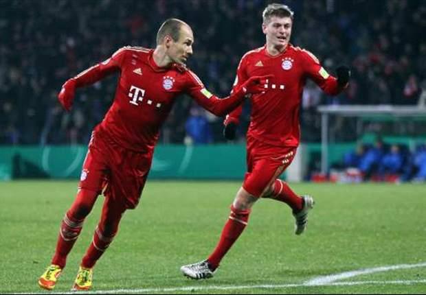 """FC Bayern München: Arjen Robben entschuldigt sich für """"dumme"""" Schwalbe gegen den VfL Bochum"""