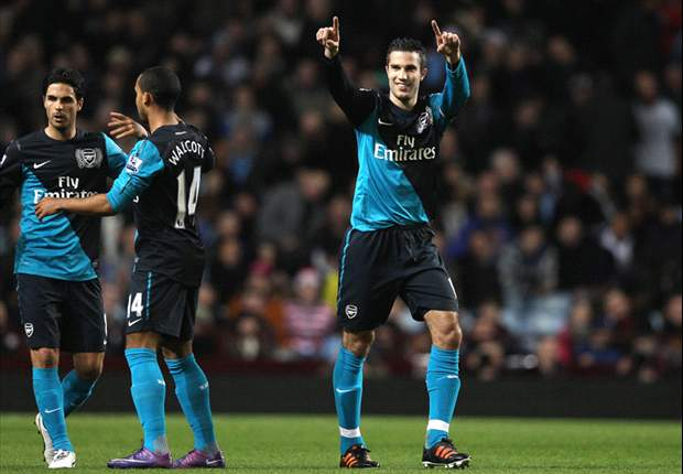 Aston Villa 1-2 Arsenal: Substitute Yossi Benayoun heads dramatic late winner to earn priceless victory over 10-man hosts