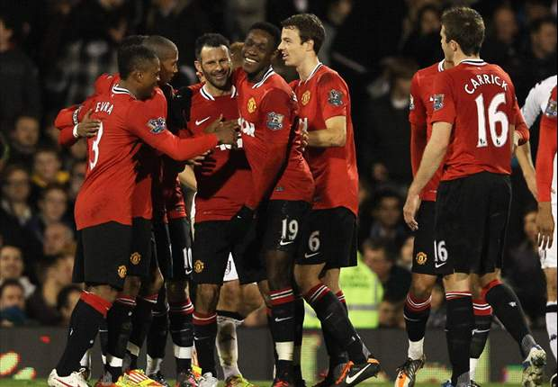 Pesta Gol Manchester United Di Craven Cottage