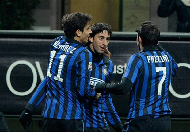 Inter 5-0 Parma: Masterful Milito sends Ranieri's side to within three points of Champions League spots