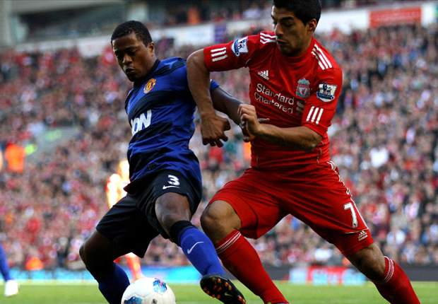 TEAM NEWS: Patrice Evra captains Manchester United in FA Cup tie against Liverpool as Wayne Rooney misses out