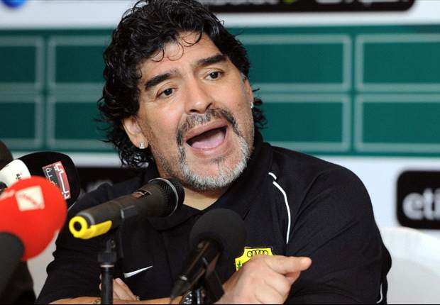 Maradona says there's a 50 per cent chance he'll leave Al Wasl if he doesn't get reinforcements