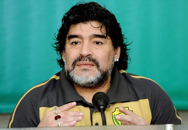Argentina legend Diego Maradona admitted to hospital with kidney stones