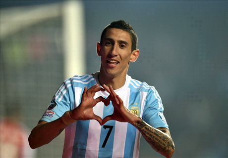 The real Di Maria stands up for Argentina