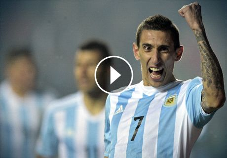 Argentina rout Paraguay 6-1 to reach final