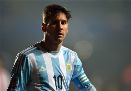 Copa final as big as World Cup for Messi