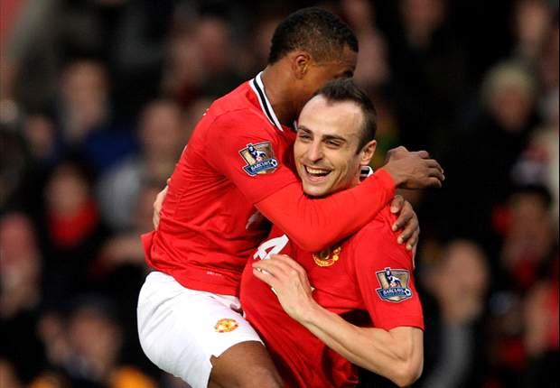 Manchester United 5-0 Wigan: Dimitar Berbatov hat-trick downs visitors as champions romp to fifth successive Premier League victory