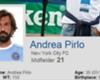 Andrea Pirlo's NYCFC profile page