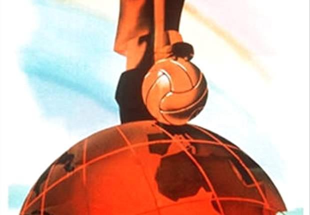 Poster Piala Dunia 1938 Prancis