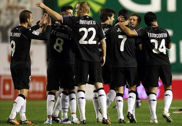 Granada 0-1 Valencia: First-half Feghouli effort moves Los Che six points clear in third spot in La Liga