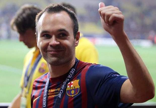 Barcelona's Andres Iniesta: I hope Lionel Messi or Xavi win the Fifa Ballon d'Or