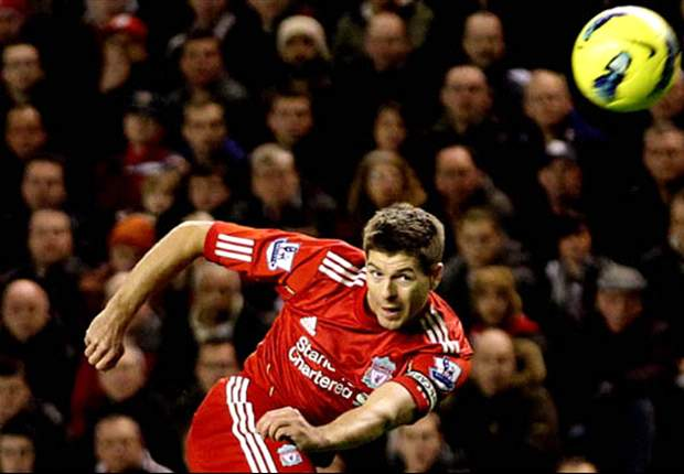 Liverpool's Steven Gerrard Backs Andy Carroll To End Goalscoring Drought