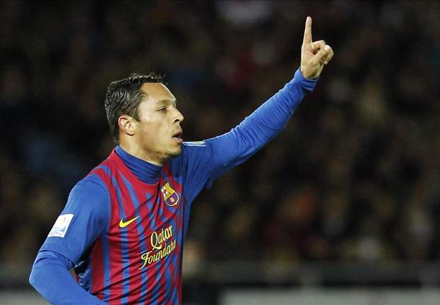 Adriano is happy at Barcelona and will stay with the club, says agent