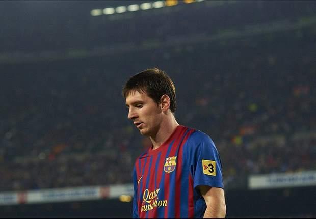 Barcelona's Lionel Messi to miss Copa del Rey clash with Osasuna through illness