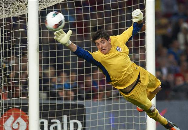 Atletico Madrid 1-1 Valencia: Courtois stars as the shares are spoiled at Vicente Calderon