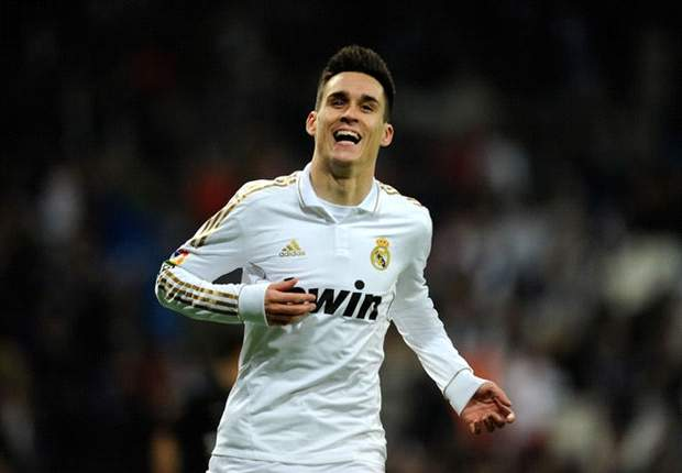 Real Madrid's Callejon resumes training