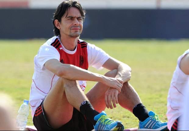 AC Mailand: Filippo Inzaghi mit Debüt zufrieden