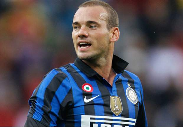 Wesley Sneijder rules out leaving Inter before close of January transfer window