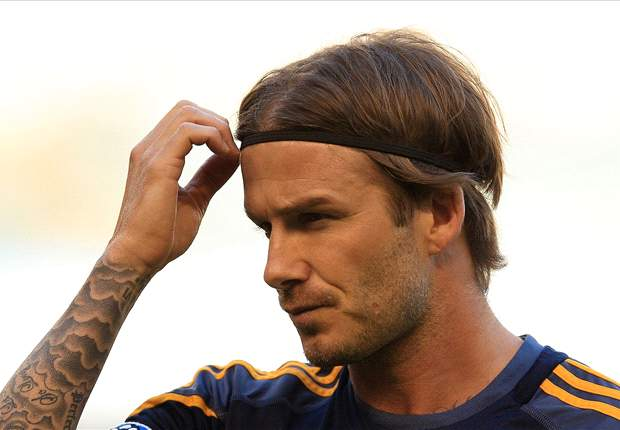 David Beckham substituted at half-time for LA Galaxy in shock defeat