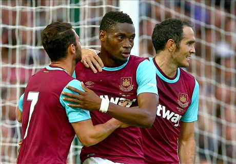 Sakho leads Hammers to routine win
