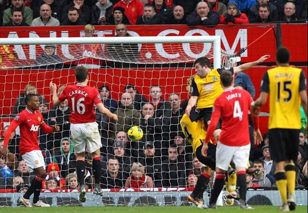 Manchester United 2-3 Blackburn: Yakubu double and Hanley winner sees visitors stun Old Trafford despite Berbatov brace
