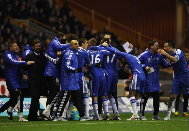 Wolves 1-2 Chelsea: Frank Lampard winner caps dramatic finale to give Andre Villas-Boas first victory in five games