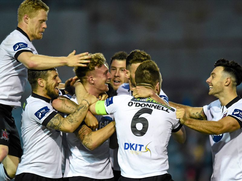 Drogheda United 1-2 Dundalk: Leaders leave it late in Louth derby