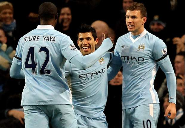 Manchester City 3-0 Liverpool: Sergio Aguero, Yaya Toure & James Milner strikes secure comfortable win for 10-man hosts