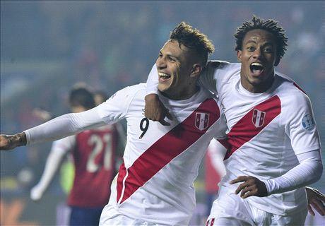 Peru beat Paraguay to seal third place