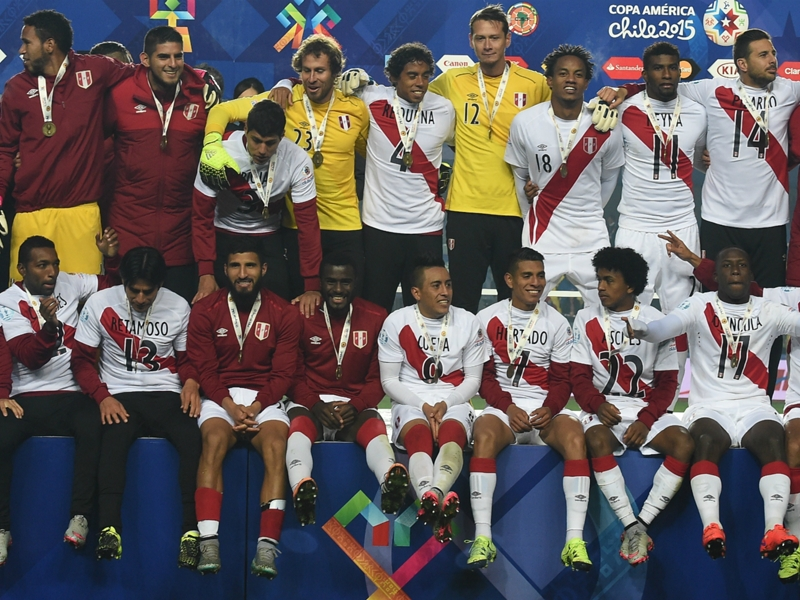 Gareca: Third place just the start for Peru