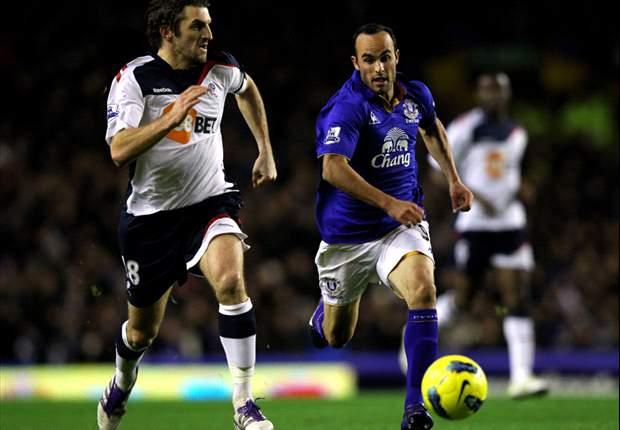 Everton 1-2 Bolton: Goalkeeper Tim Howard scores bizarre goal but Gary Cahill winner lifts visitors off bottom