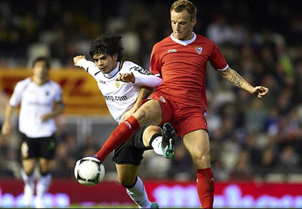 Valencia 1-0 Sevilla: Solitary Jonas goal gives Unai Emery's men slender first leg advantage