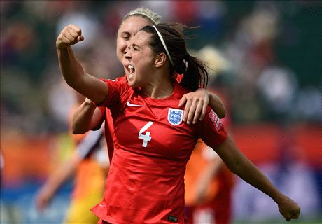 England women claim third place at WC