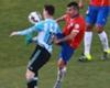 Gary Medel vs. Lionel Messi, segundo round