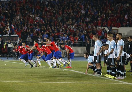 Chile win Copa America on penalties