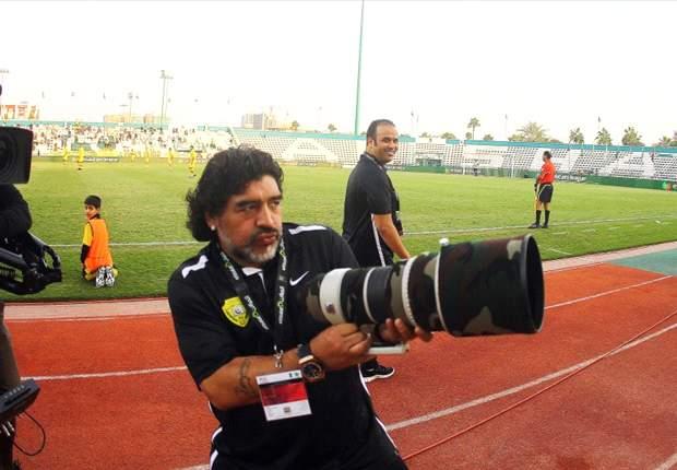 Maradona: Shilton needs to get over 'hand of God' goal