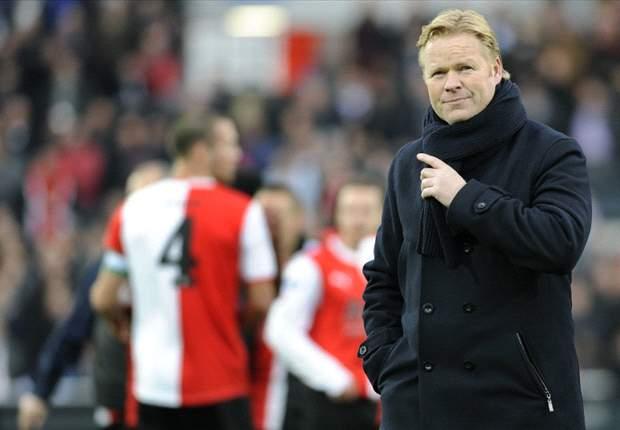 Koeman: Feyenoord can win the title