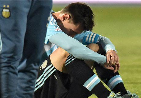 En Chile también defienden a Messi