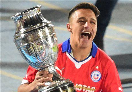 Alexis seals Copa America glory for Chile
