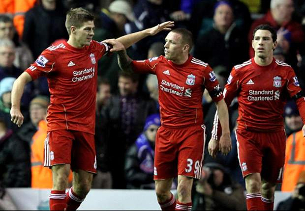 Liverpool 5-1 Oldham: Steven Gerrard & Andy Carroll on target as Reds romp home after early scare to progress in FA Cup