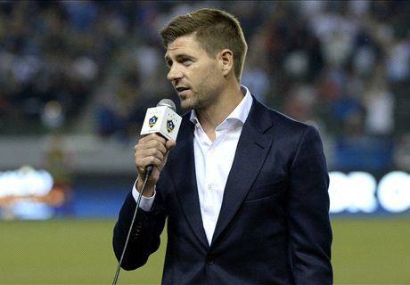 Gerrard buys beer for LA fans
