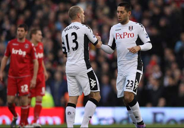 Clint Dempsey scores hat trick for Fulham in FA Cup win over Charlton