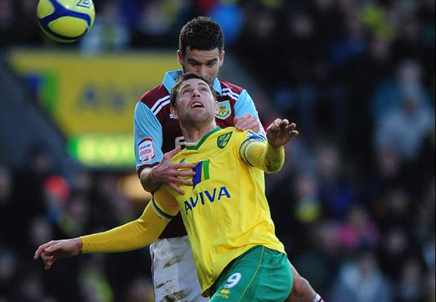 Norwich City 4-1 Burnley: Grant Holt scores before later missing penalty as Canaries cruise into FA Cup Fourth Round