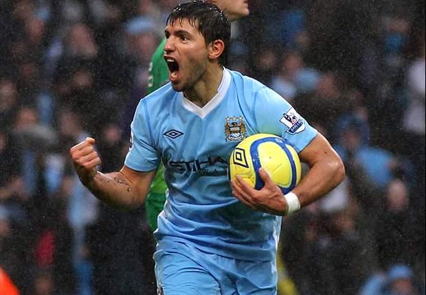Sergio Aguero sieht seine Zukunft bei Manchester City