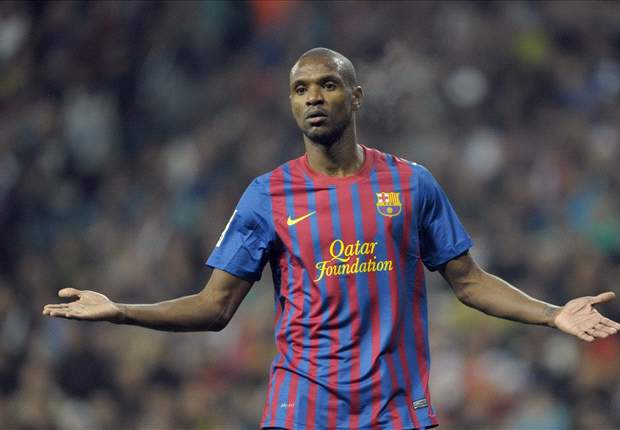 Abidal makes long-awaited Barcelona comeback