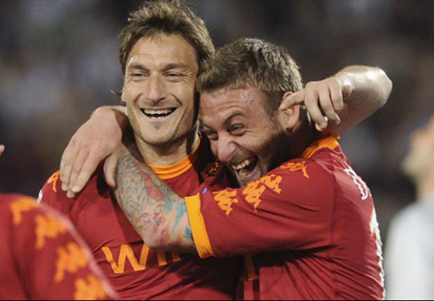 TEAM NEWS: De Rossi and Totti return for Rome derby