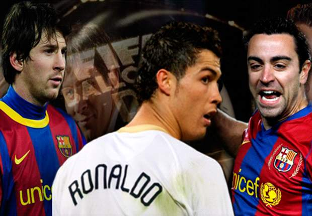 Barcelona and Real Madrid players dominate 2011 Fifa/FifPro World XI